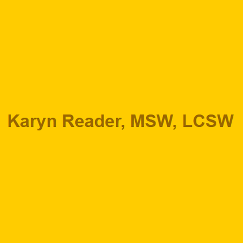 Karyn Reader, Msw, Lcsw - Randolph, NJ 07869 - (973)540-0049 | ShowMeLocal.com