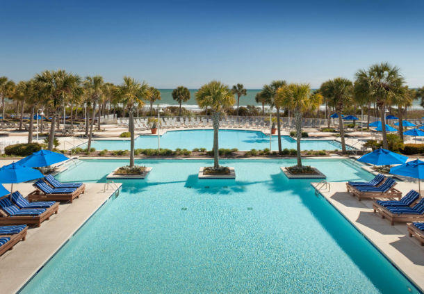 Myrtle Beach Hotels With Spa Services