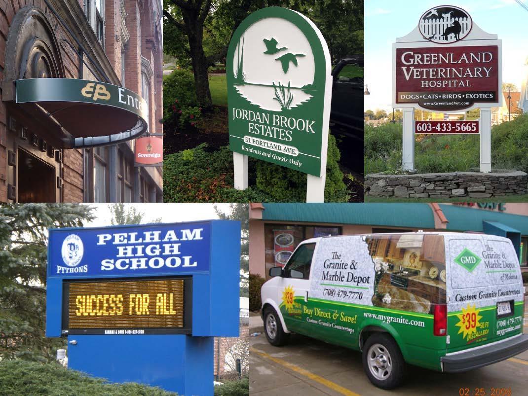 Signs Now New Hampshire - Pelham, NH 03076 - (603)635-2292   ShowMeLocal.com