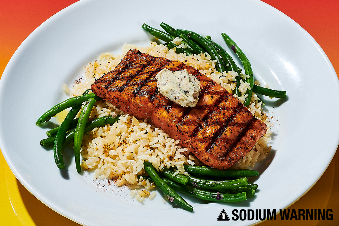 Fire-Grilled Atlantic Salmon
