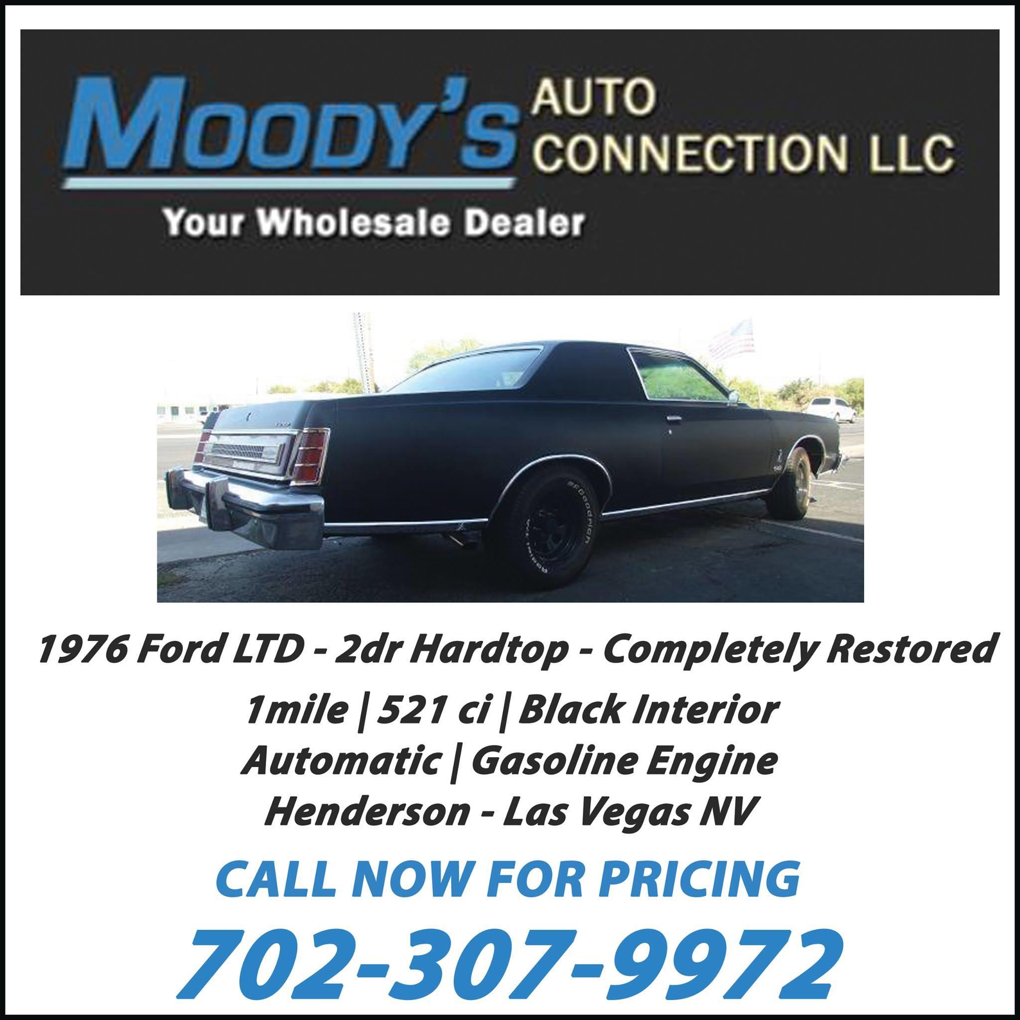 Moodys Used Cars