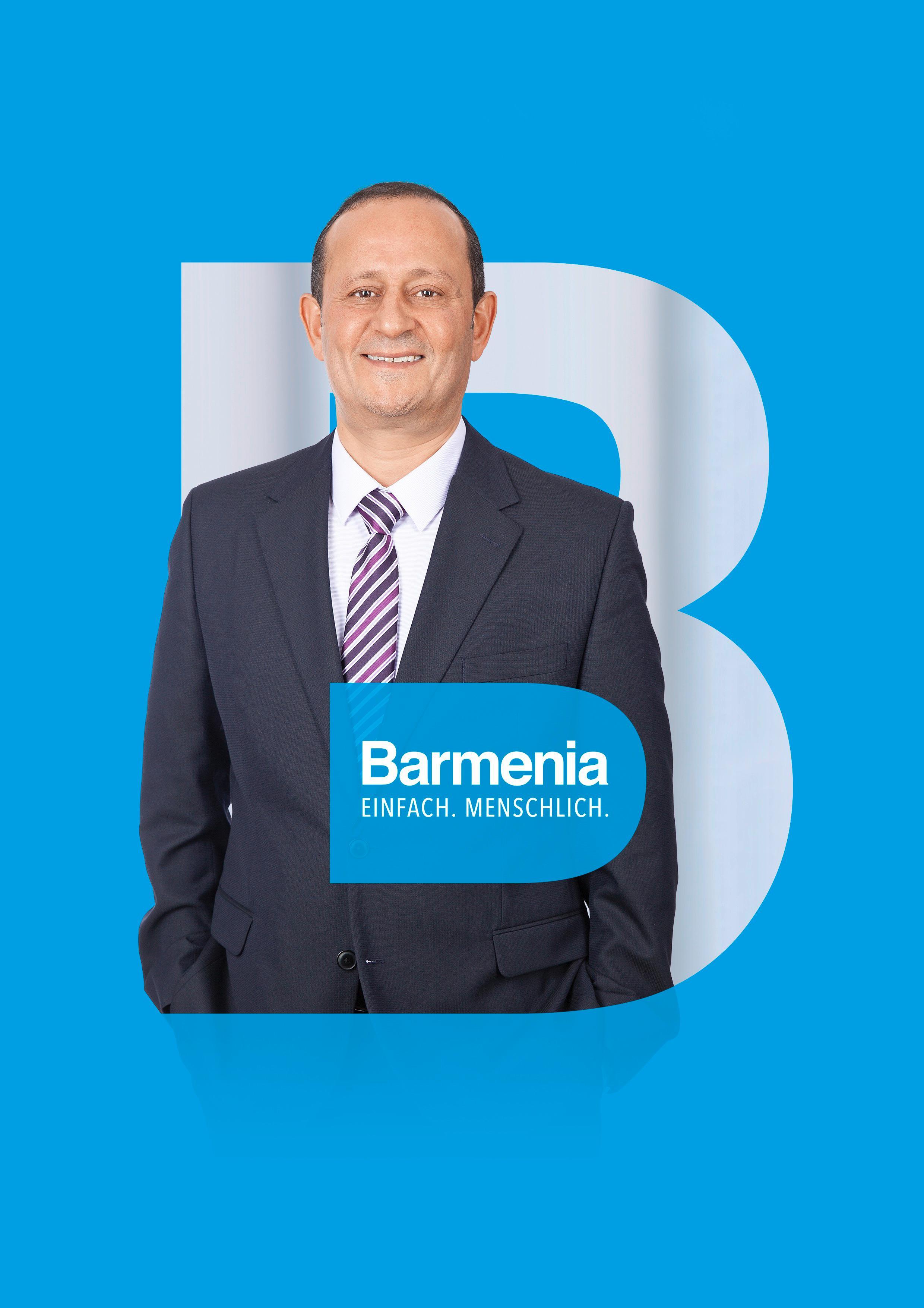 Hassan Farhoudah. Ihr Ansprechpartner für die Barmenia Versicherung in Dortmund.