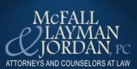 Mcfall Alan B Attorney