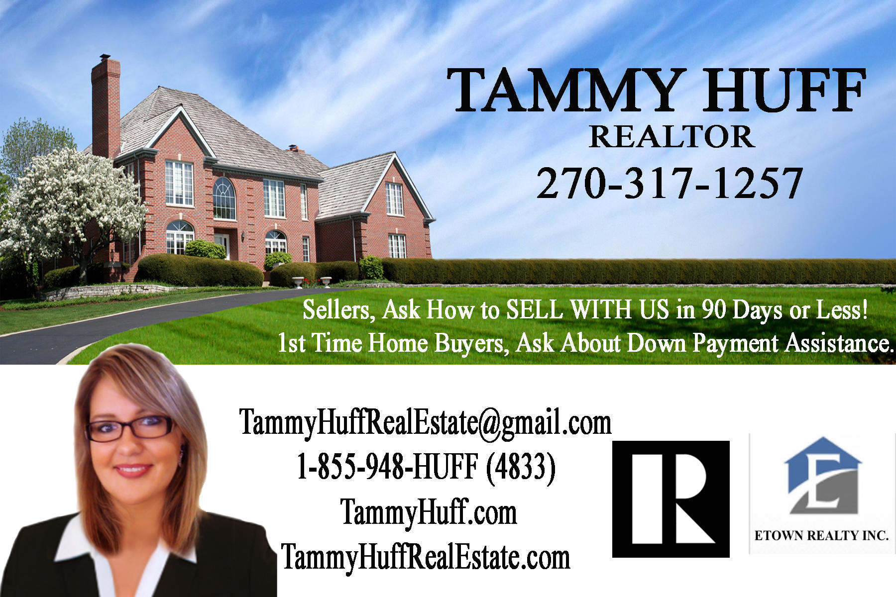Tammy huff etown realty elizabethtown kentucky ky for Huff realty