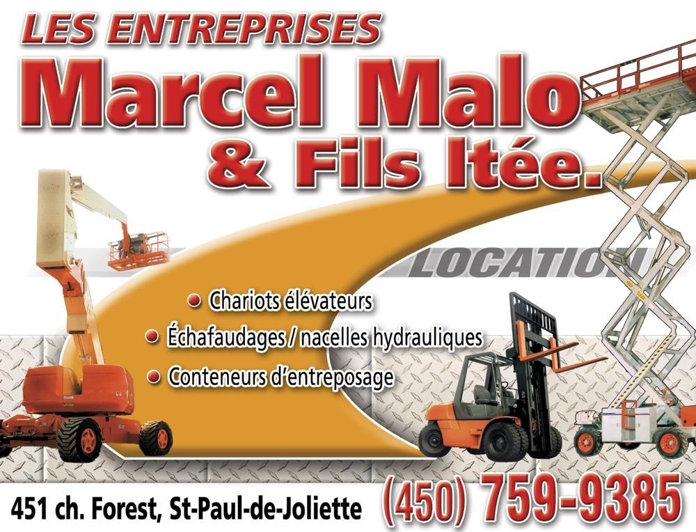 Les Entreprises Marcel Malo et Fils Ltée à Saint-Paul