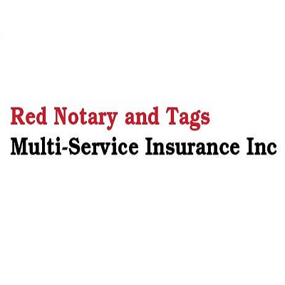 Red Notary & Tags Multi-Service Insurance Inc