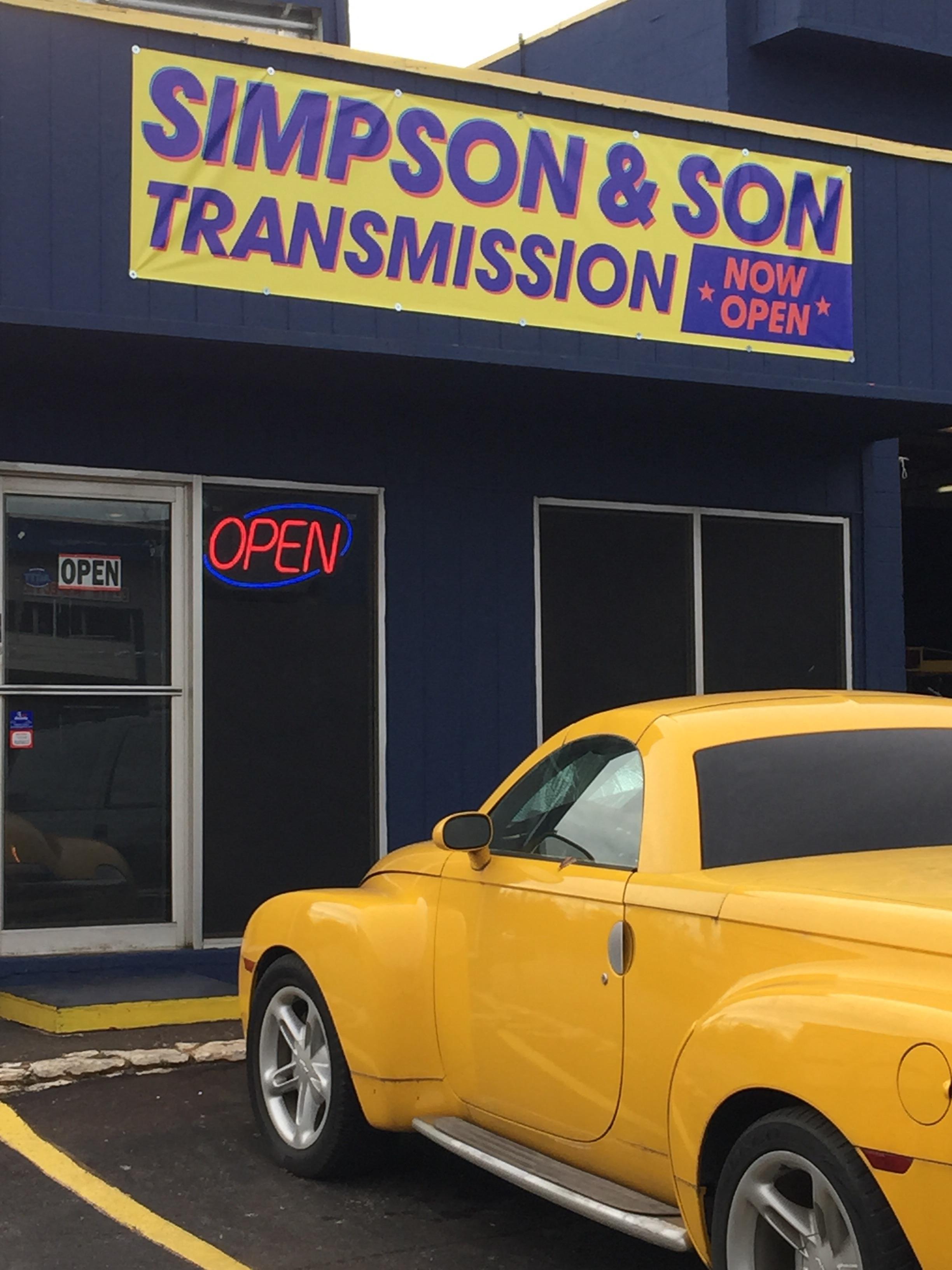 Simpson & Son Transmission
