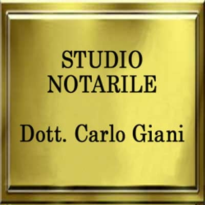Studio Notarile Dott. Carlo Giani