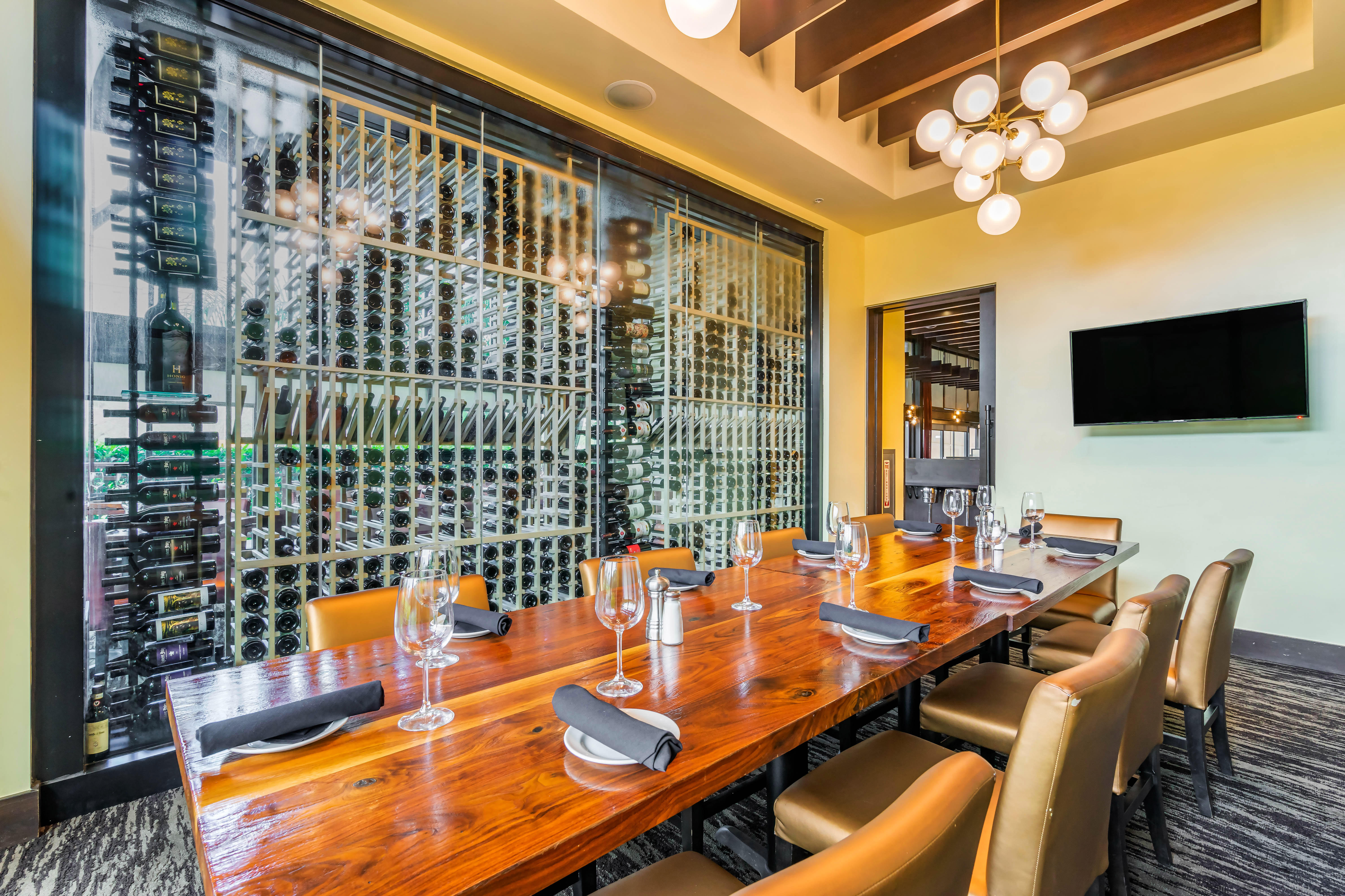 Del Frisco's Grille Tampa Private Dining Room group dining room