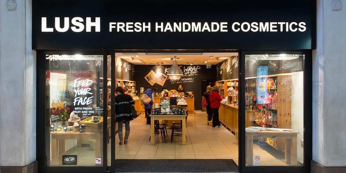 Cambridge shop front