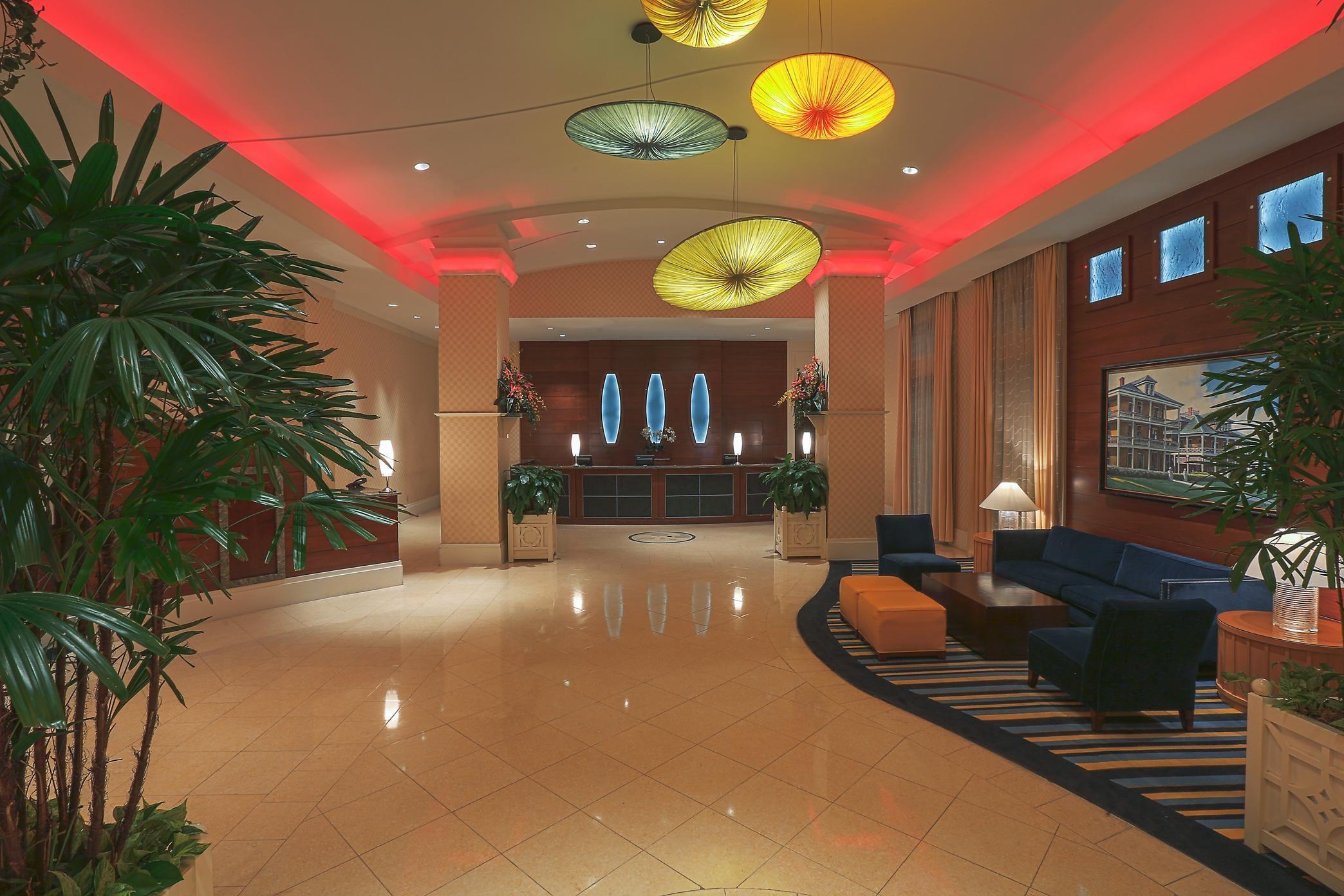 Hilton Virginia Beach Lobby
