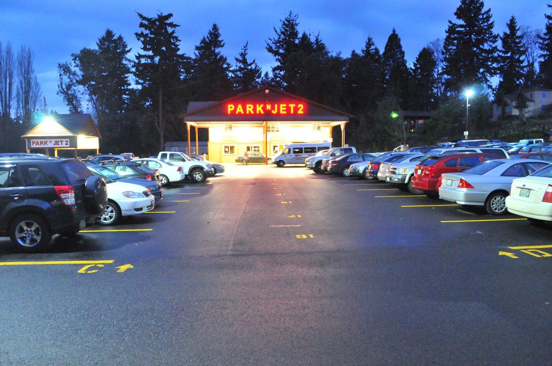 Park N Jet Lot 2 Seatac Airport Parking In Seattle Wa