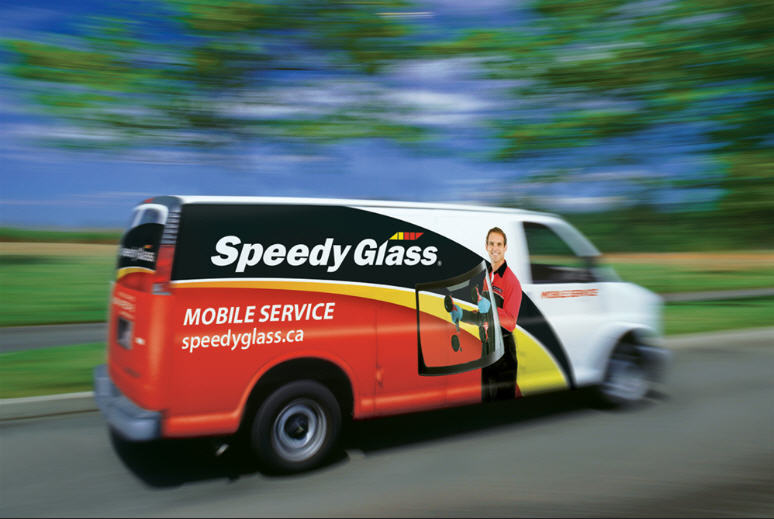 Speedy Glass in Cambridge: Speedy Glass mobile service, our technician can come to you!