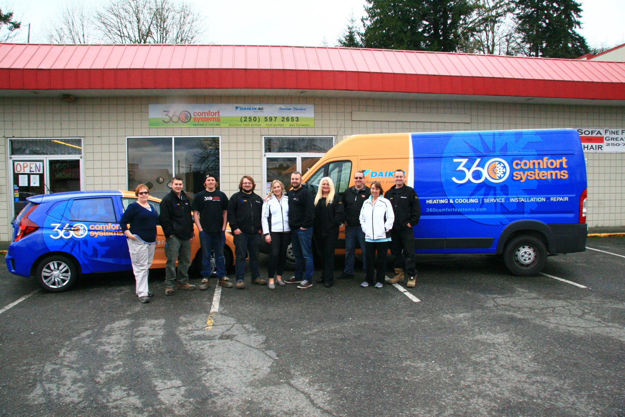 360 Comfort Systems in Duncan: The 360 Comfort Team
