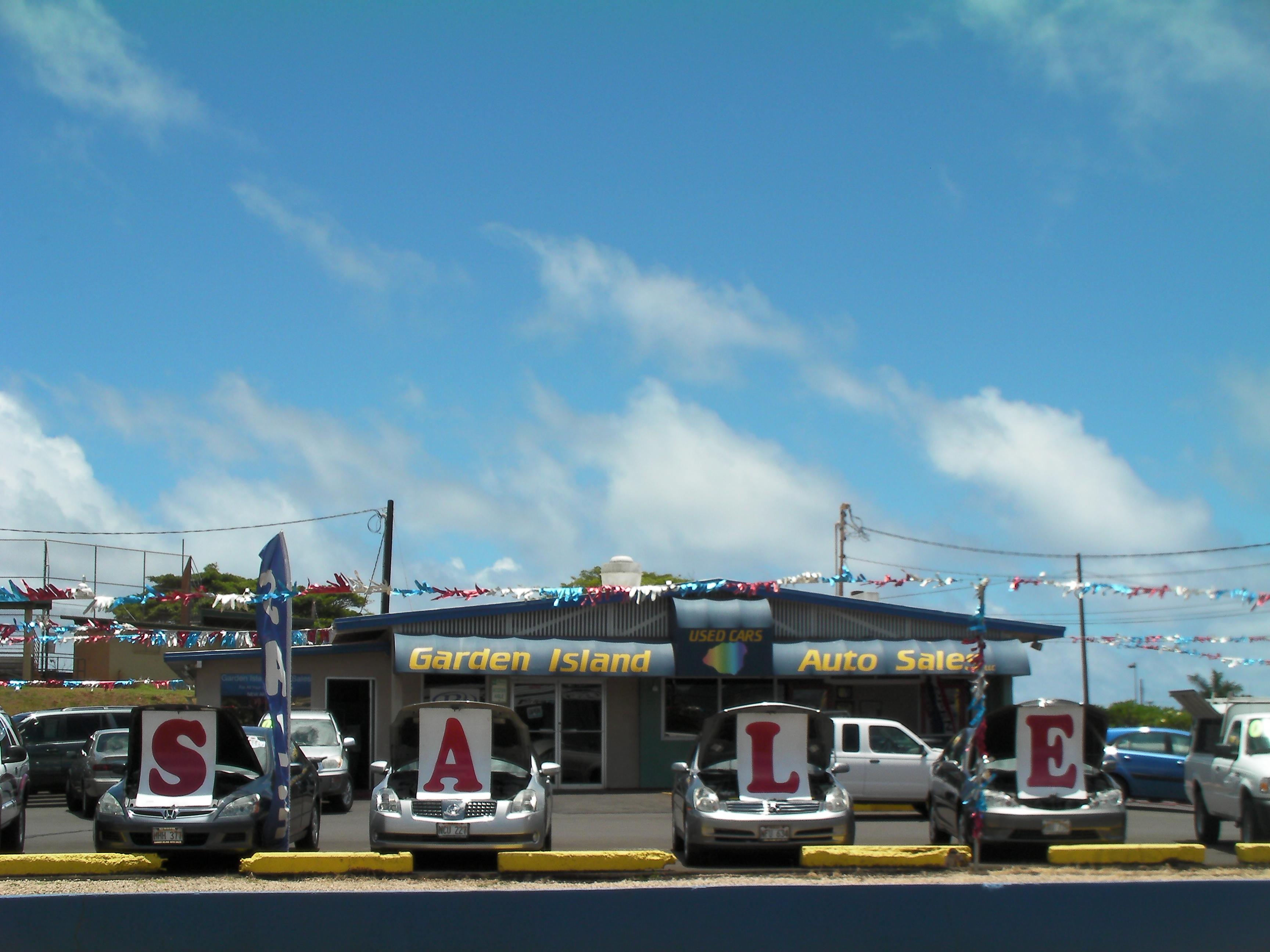 GARDEN ISLAND AUTO SALES LLC