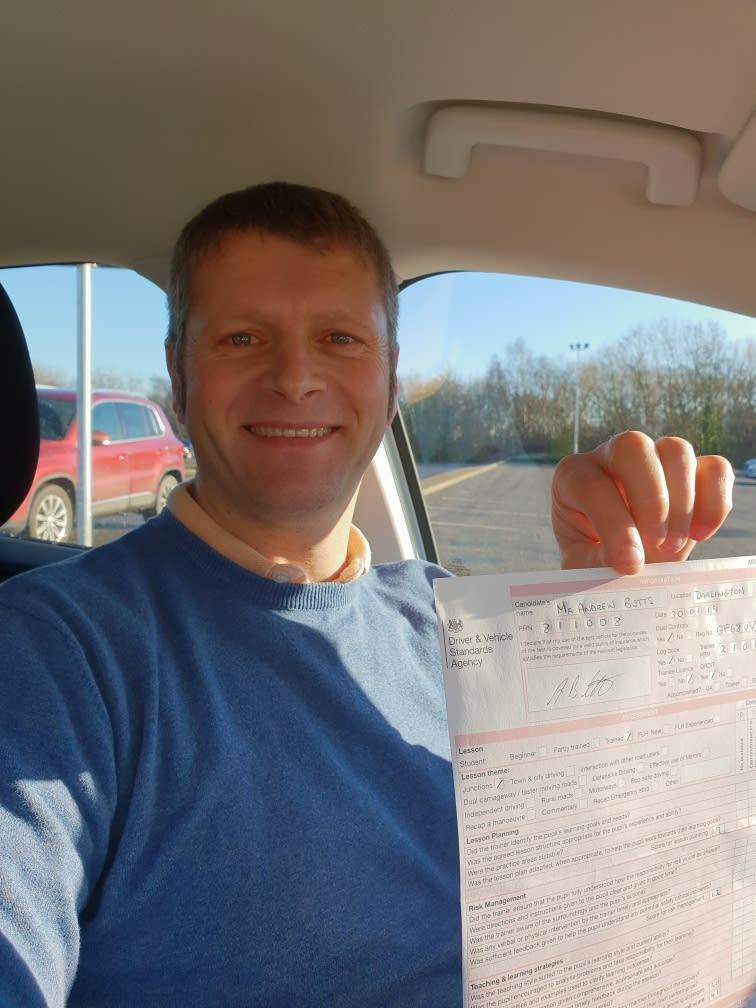 Bill Wait Driving Instructor Billingham 07720 679237