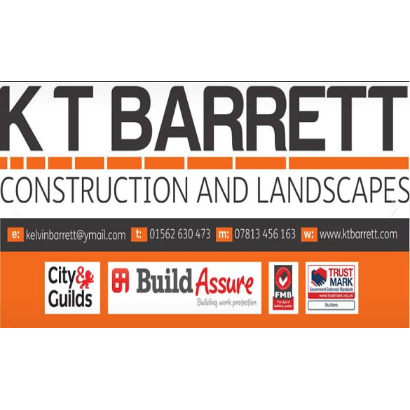K.T Barrett Construction & Landscapes - Kidderminster, Worcestershire DY10 3YX - 01562 630473 | ShowMeLocal.com