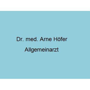 Dr. med. Arne Höfer Allgemeinarzt
