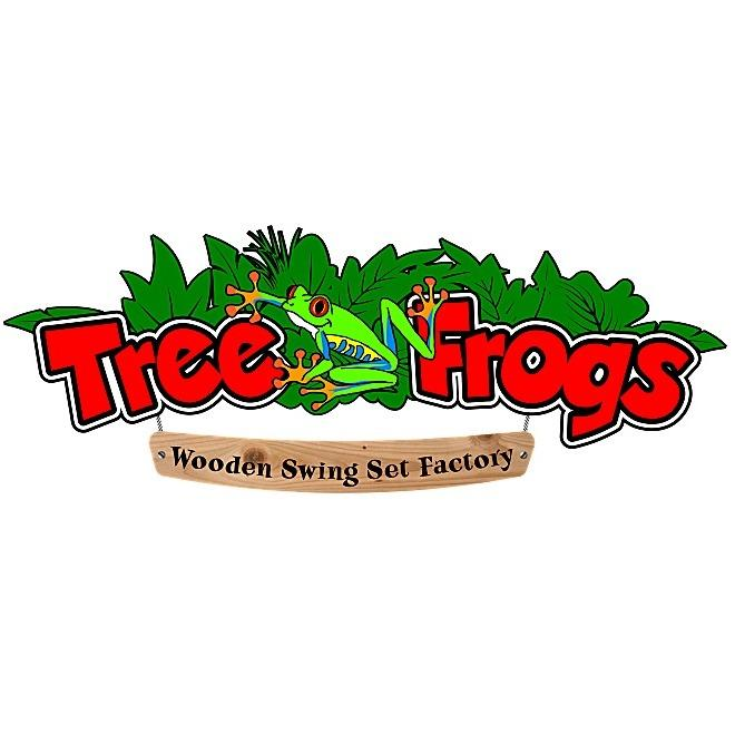 Tree Frogs Wooden Swing Set Factory - Tomball