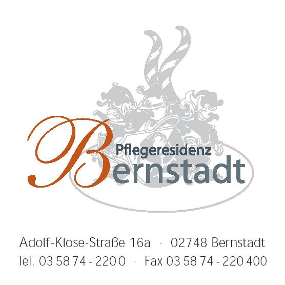 Bild zu Pflegeresidenz Bernstadt gGmbH in Bernstadt auf dem Eigen