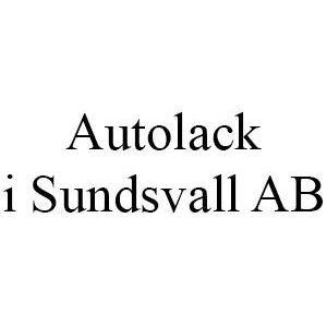Autolack i Sundsvall AB