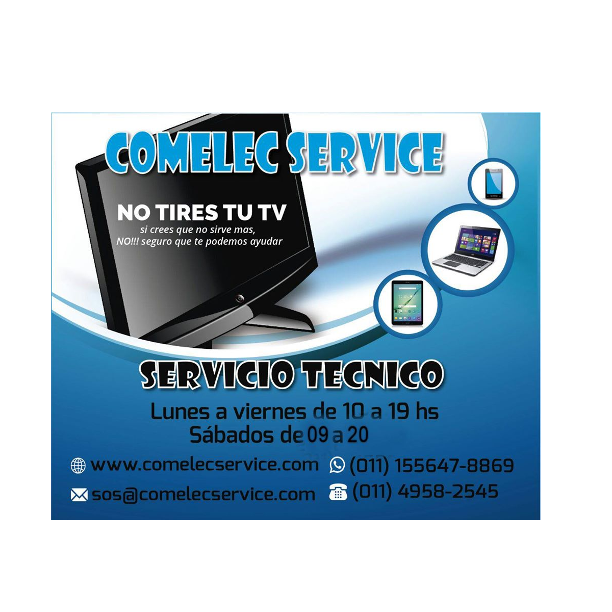 COMELEC SERVICE - SERVICE DE TV
