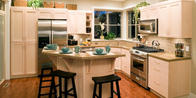 Complete your kitchen remodel with custom cabinets.