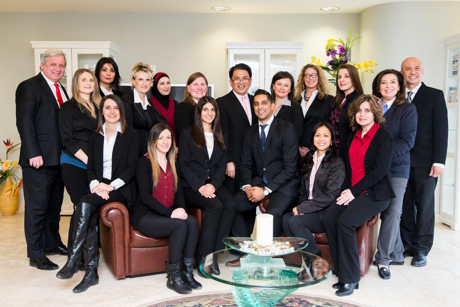 Estrabillo Dental Group Team Photo Estrabillo Dental Group Ancaster (905)304-6300