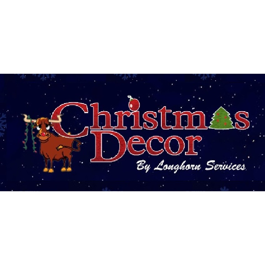 Christmas Decor by Longhorn Services
