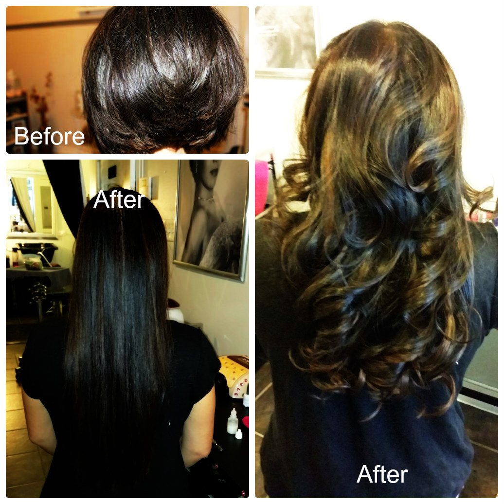 Chicago hair extensions salon chicago illinois il for A j salon chicago