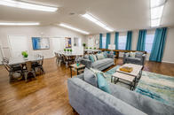 Resident Lounge with Couches and Table