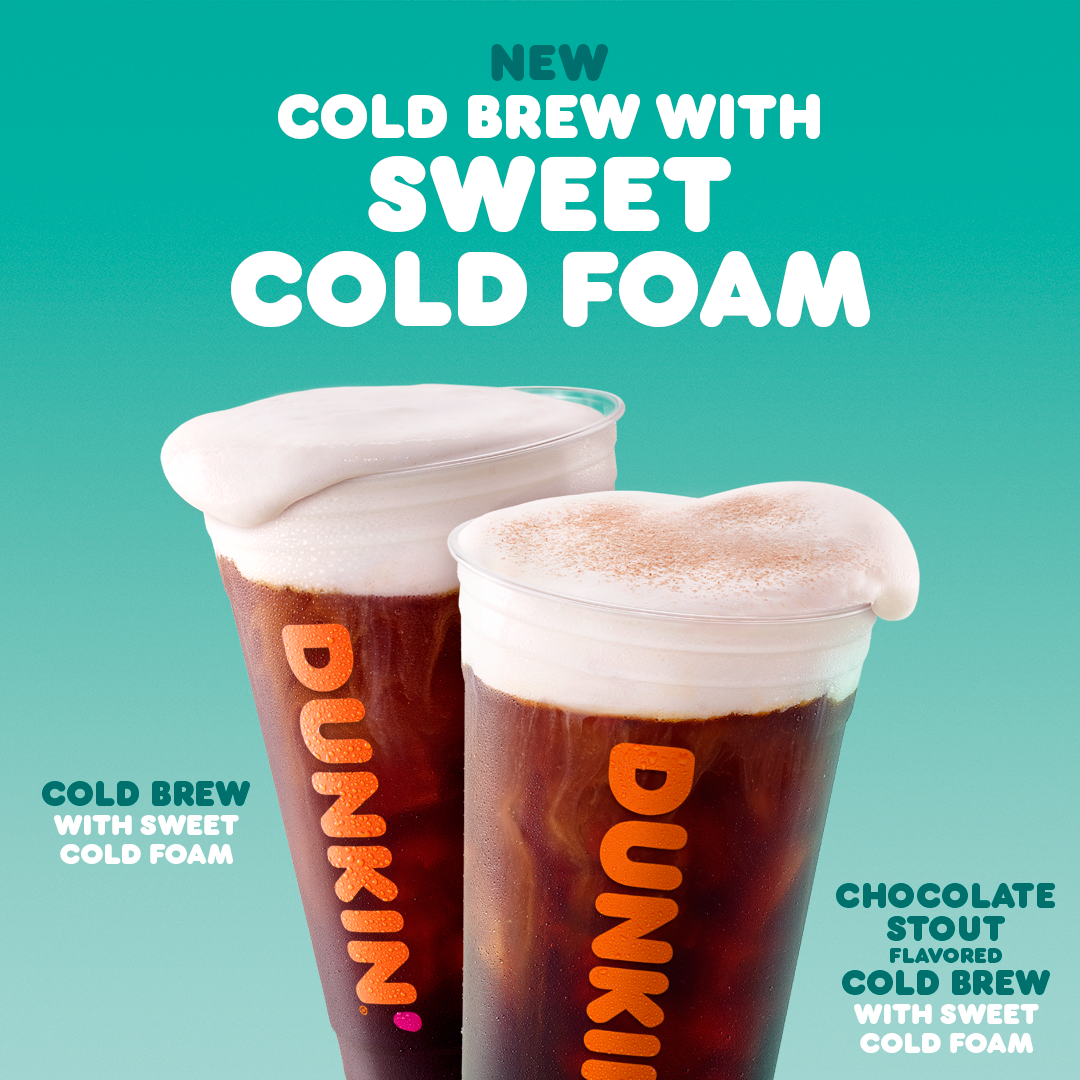 Dunkin' Cold Brew with Sweet Cold Foam