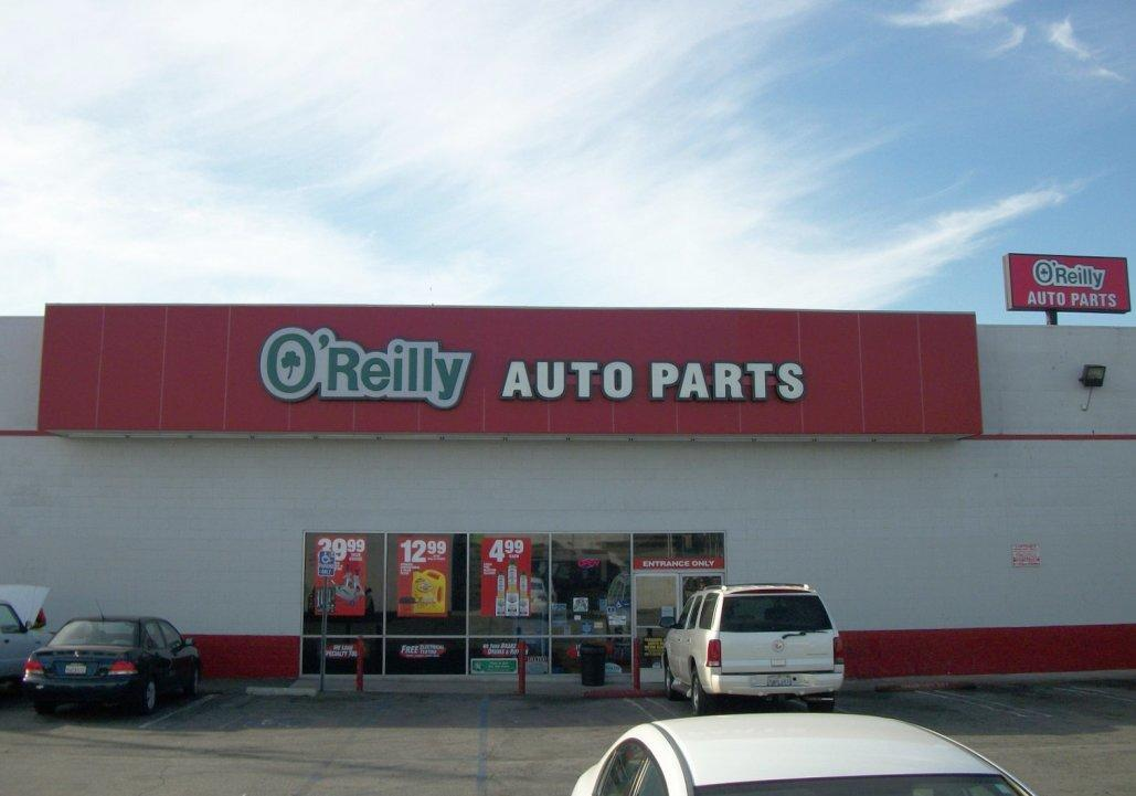 O Reilly Auto Parts Los Angeles California Localdatabase Com