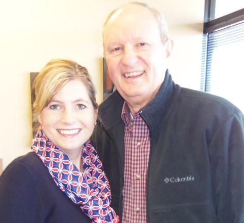 Bill Murdock and Lisa Utterback