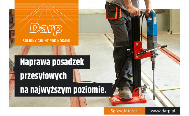 Darp - Posadzki przemysłowe, żywiczne, betonowe