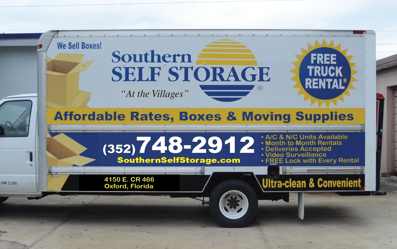 Southern Self Storage The Villages Oxford Florida Fl