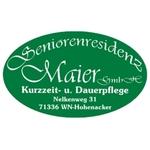 Logo von Seniorenresidenz Maier GmbH