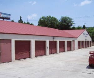 Drive-up access for our conventional units makes loading and unloading easy.
