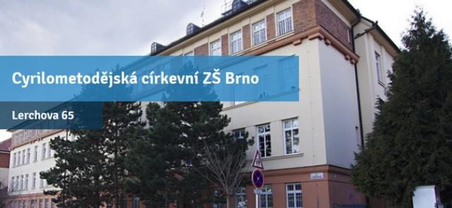 Cyrilometodějská církevní základní škola, Lerchova 65, Brno