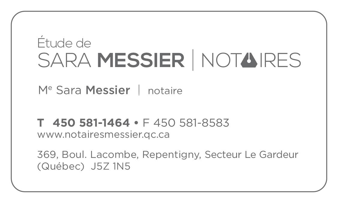Etude De Sara Messier Notaires à Repentigny