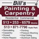 Bill's Painting & Carpentry