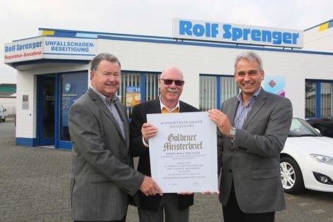 Karosserie- und Lackierfachbetrieb Rolf Sprenger GmbH & Co. KG