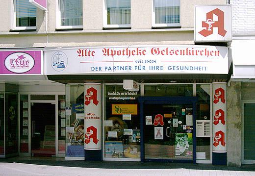Aussenansicht der Alte Apotheke Gelsenkirchen