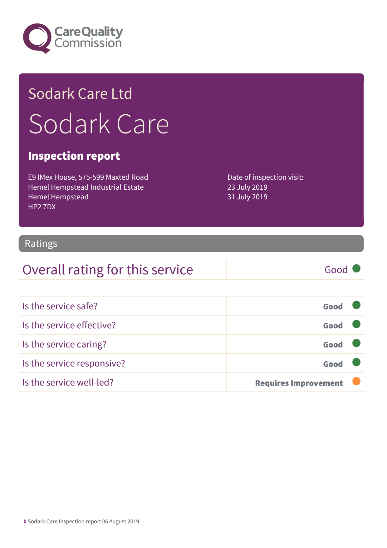 Sodark Care Ltd