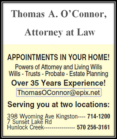 Thomas a. O'connor, Attorney at Law
