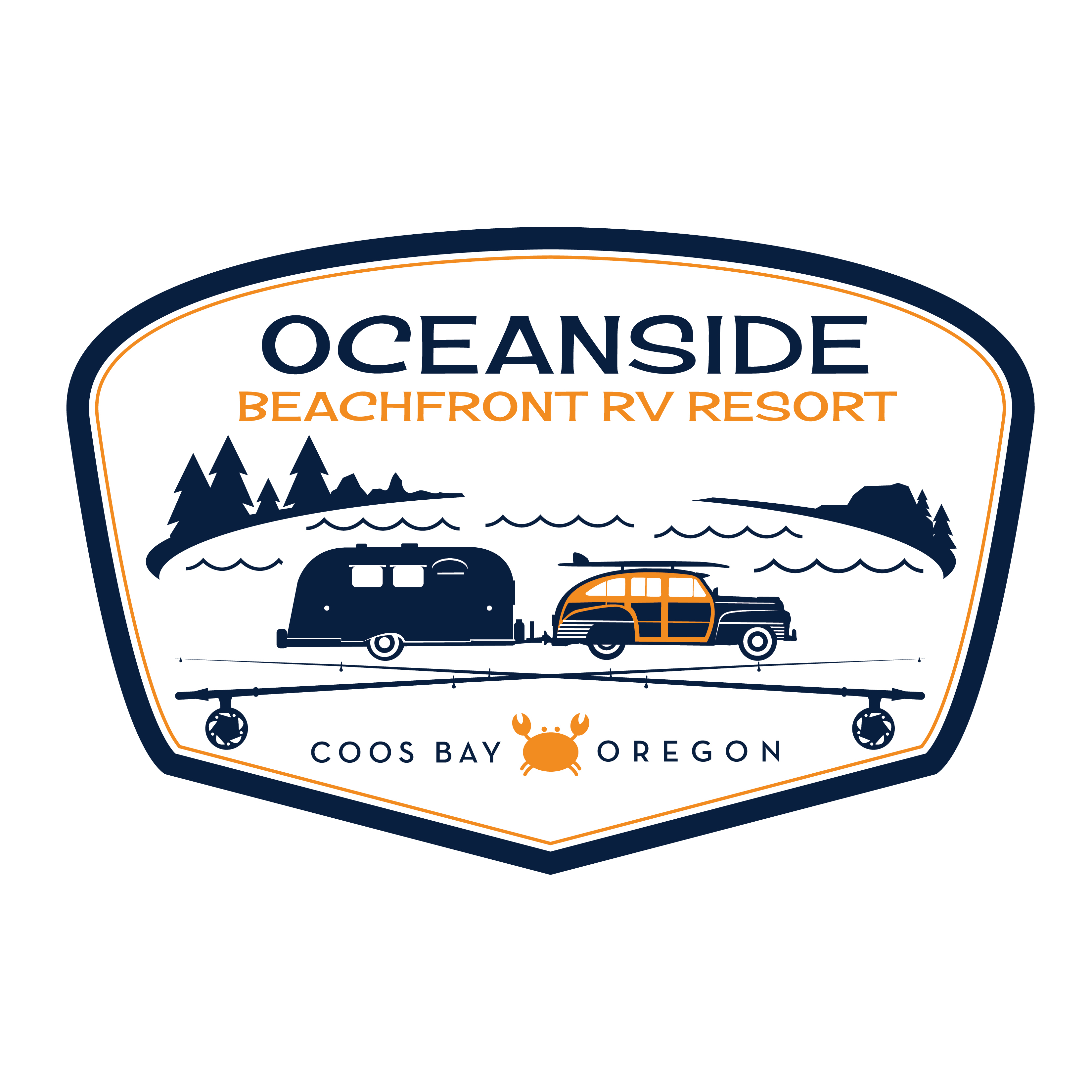 Oceanside Beachfront RV Resort - Coos Bay, OR - Camps & Campgrounds