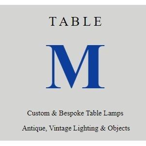 Table M Lamp Restoration