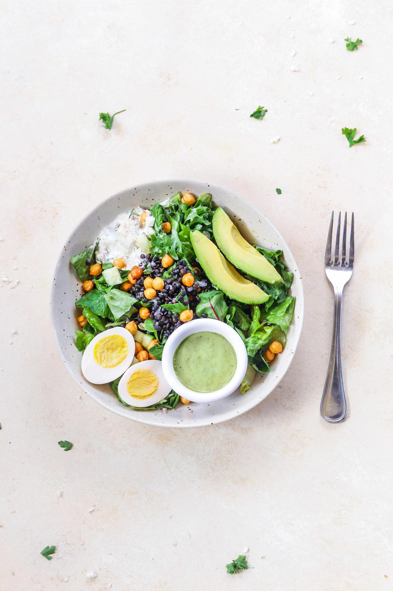 Avocado Lentil Salad