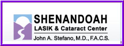 Shenandoah Lasik & Cataract - John A Stefano MD - ad image