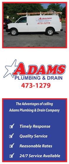 Adams Plumbing & Drain